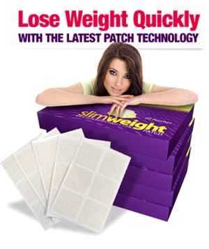 Lose weight quickly with Slim Weight Patch